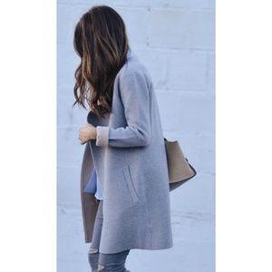 Theory Irvera Observe Wool Blend Coat